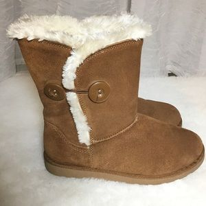 Women's SO Crayon Chestnut Boots leather upper